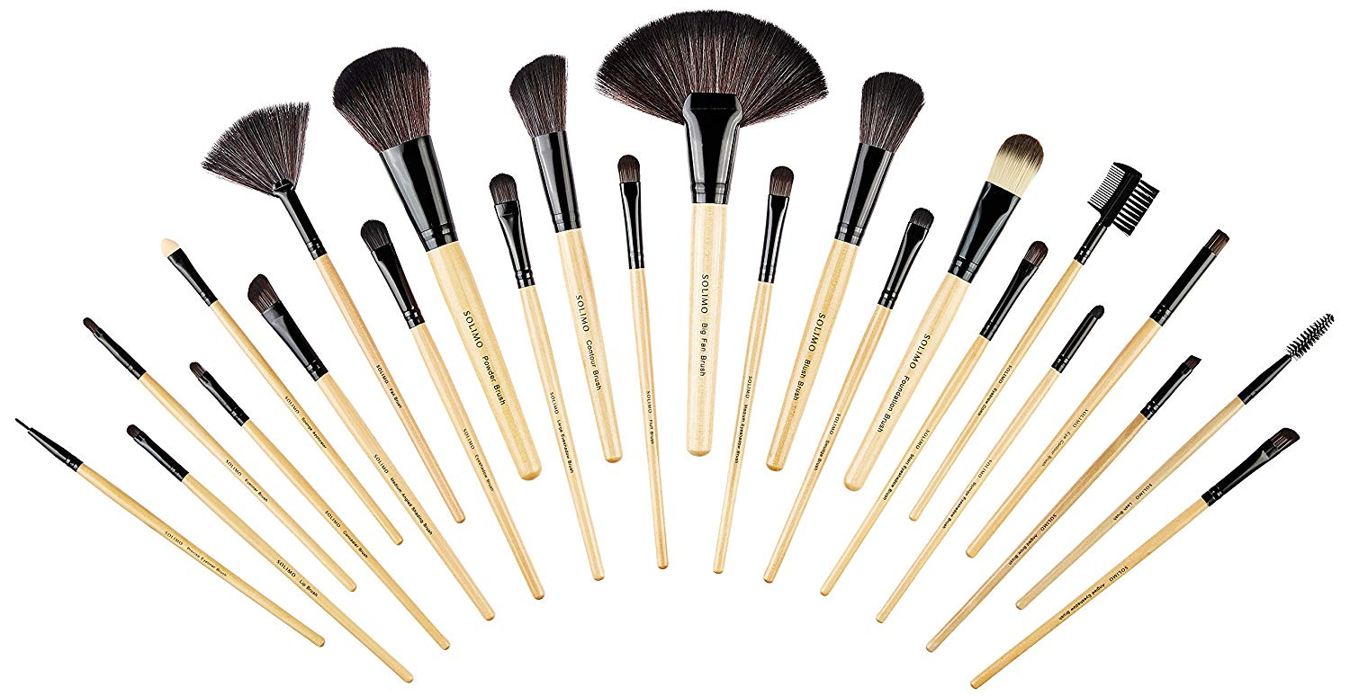 Brand Solimo Makeup Brush set