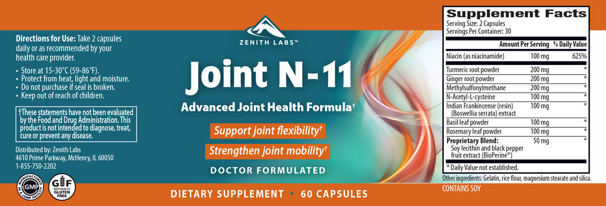 Joint N 11 Zenith Labs
