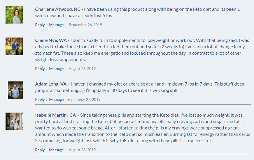 Keto Power Boost customer reviews